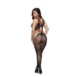 Catsuit Criss Cross Web Baci
