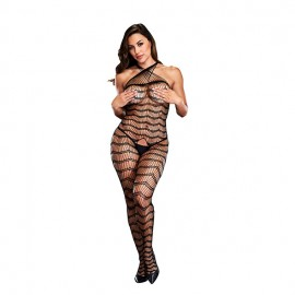 Catsuit Criss Cross Stripes Baci
