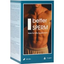 Tablete za povečanje izliva Better Sperm