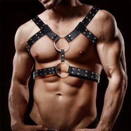 Usnjen BDSM oprsnik Aurum