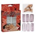 Komplet erekcijskih obročkov Red Roses
