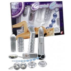 Komplet erotičnih pripomočkov Crystal clear