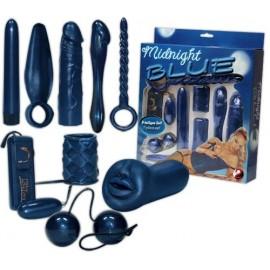 Komplet erotičnih pripomočkov Midnight Blue