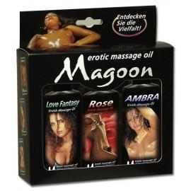 Set masažnih olj Magoon 3x100ml