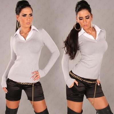 Pulover s srajčko Altea