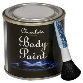 Body paint čokolada v darilni posodici