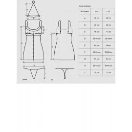 Mini božična oblekica s tangicami in pokrivalom