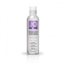 JO 2v1 Sivka masažno olje in lubrikant