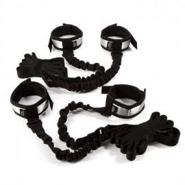 Komplet za privezovanje z elastičnimi trakovi Fifty Shades